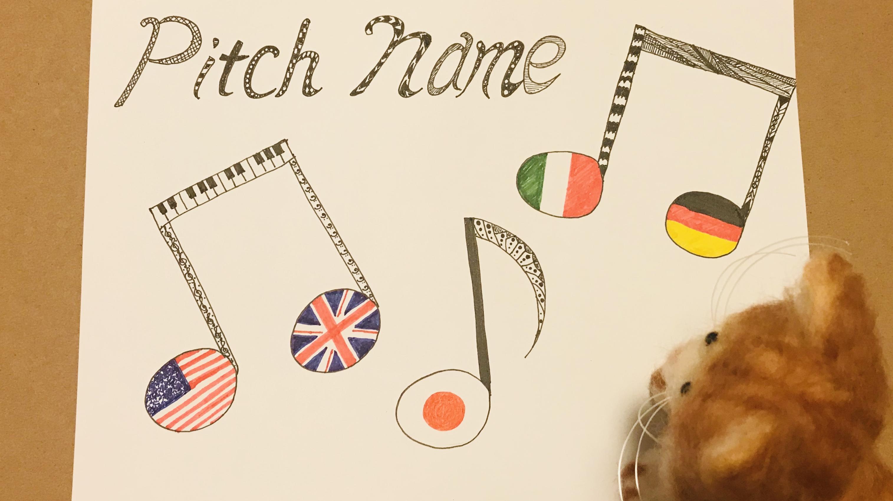 音の名は。【どの国の音名を使いますか?】