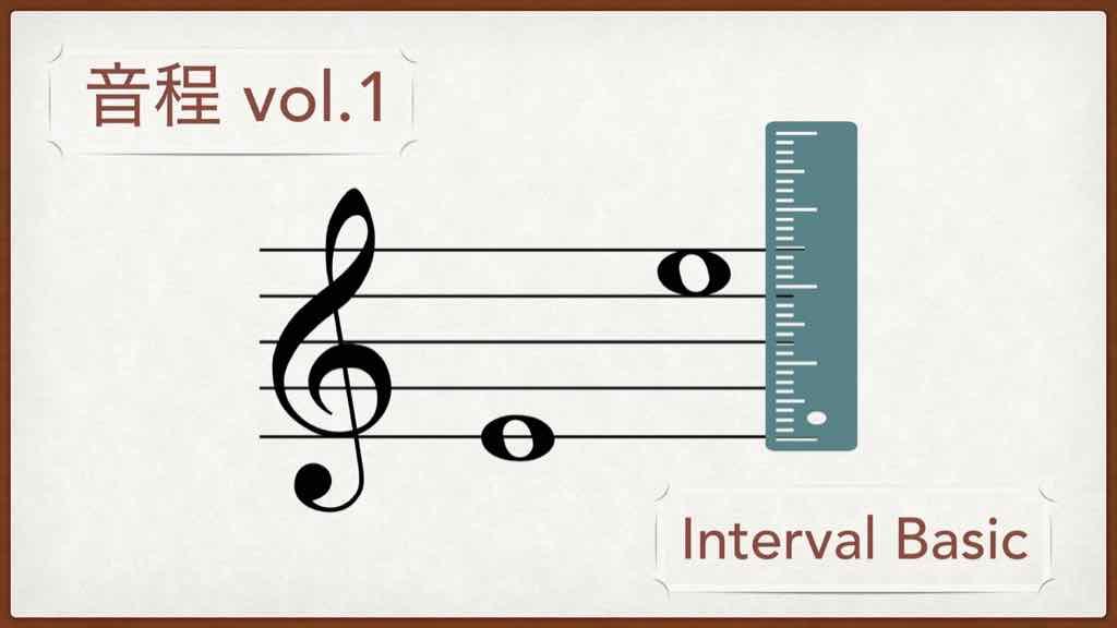 音程・インターバル vol.1【絶対わかる基本の考え方】