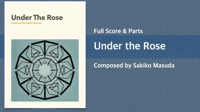 Under the Rose【Big Band オリジナル楽譜】