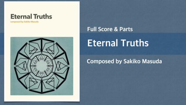Eternal Truths【Big Band オリジナル楽譜】