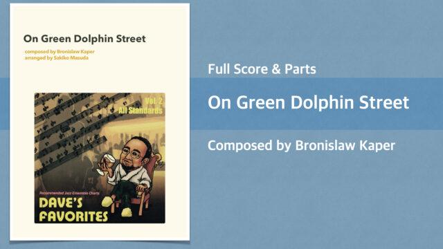 On green dolphin street Score