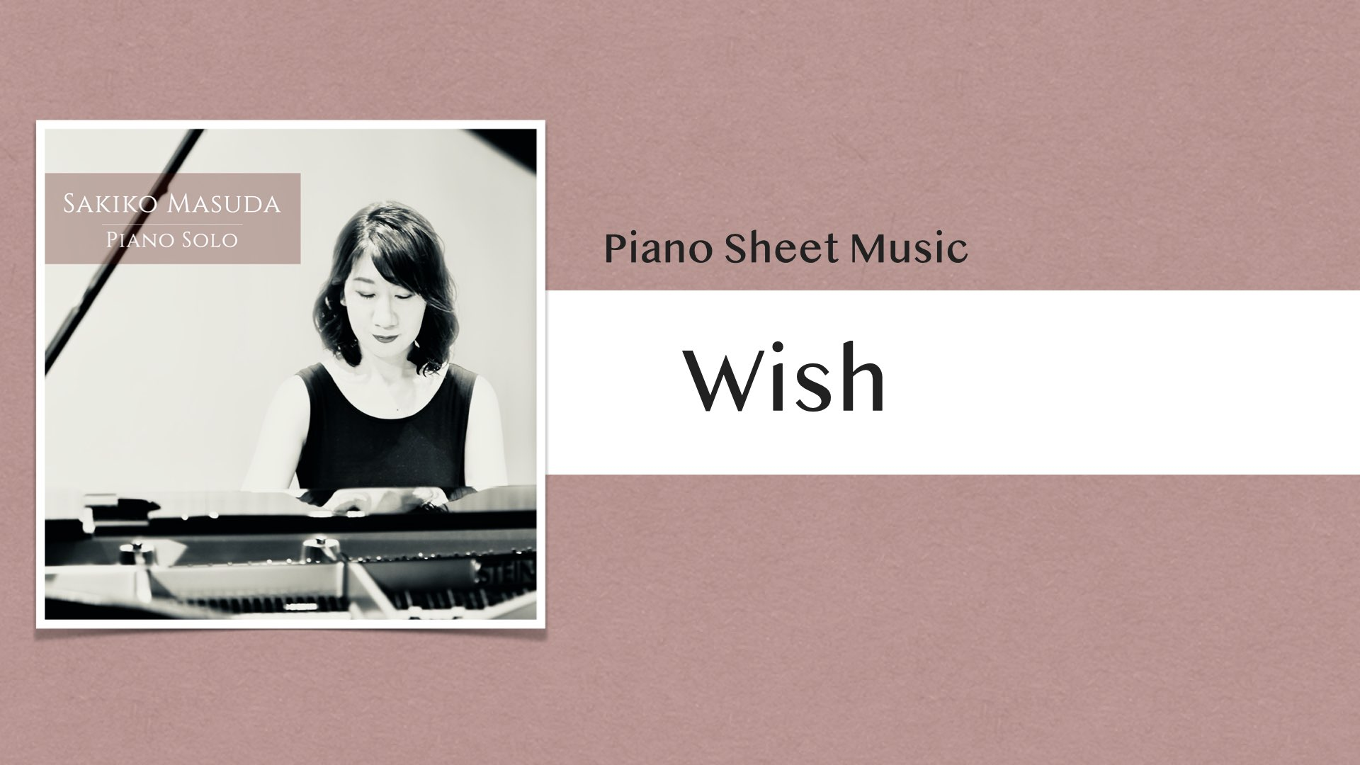Wish【ピアノ楽譜】